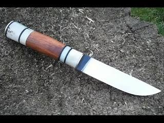 Как сделать нож из пилы свои…
