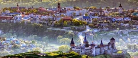 Каменец-Подольский: цветок на камне
