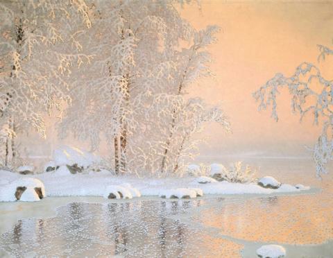Зимнее очарование от шведского художника