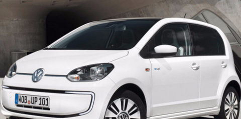 Электрокар Volkswagen e-up