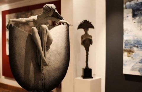 Вот что бывает, когда скульптор влюбляется в бронзу