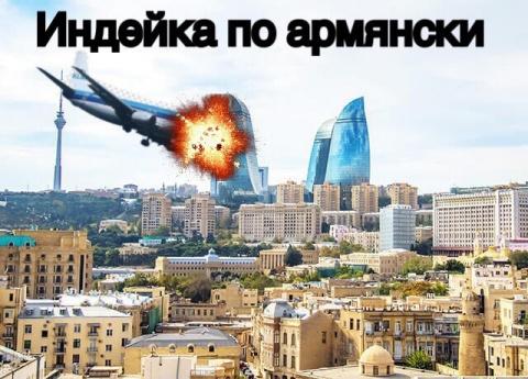 Индейка по-армянски оскорбила азербайджанцев