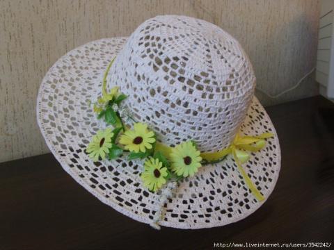 шляпки связанные крючком