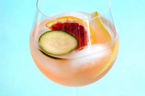 Сангрия из белого вина