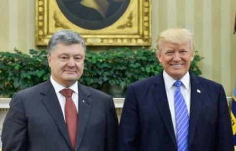 «Петр, присмотри за моим бизнесом!» О чем говорили Порошенко и Трамп на совместной встрече