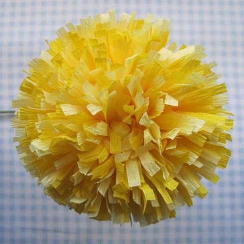 Бумажный цветок. Мастер-класс