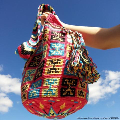Сумки вайуу - колумбийские мочила