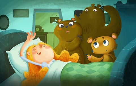 Современные варианты русской сказки о трех медведях в разных странах