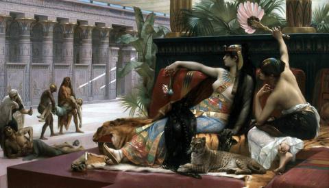 Десятка любопытных фактов о жизни Клеопатры