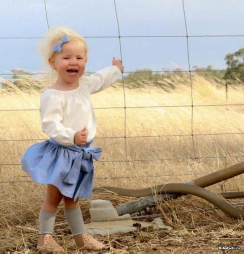 Жительница Австралии ужаснулась, рассмотрев фото своей дочери