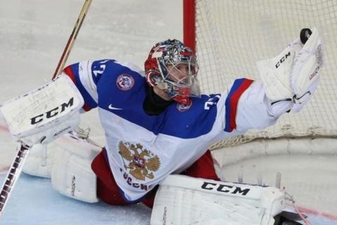 Бобровский будет защищать ворота сборной России в матче с Канадой