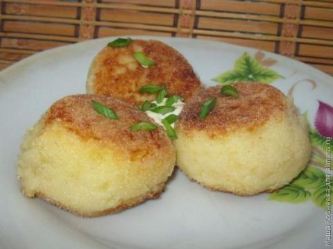 Картофельные оладьи с начинкой