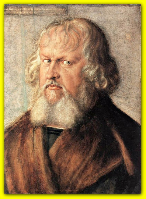 Портрет Иеронима Хольцшуэра.1526.
