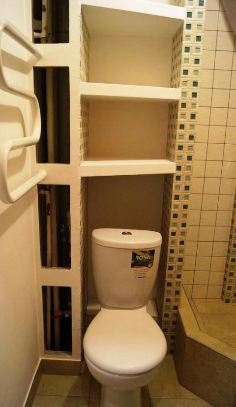 Крошка- ванная без ванны, или — как довести до ума очень маленький санузел