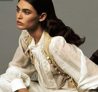 Летние блузки из льна