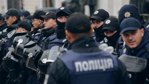 Во время погрома в суде Киев…