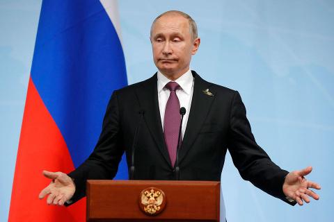 У нас траур - Путин идет на выборы