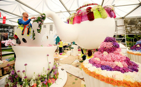 Впечатляющие фото с Chelsea Flower Show 2015