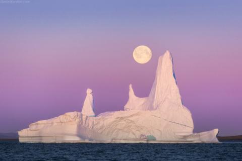 Великолепные пейзажи Гренландии