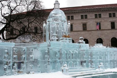 Ледяные Скульптуры!
