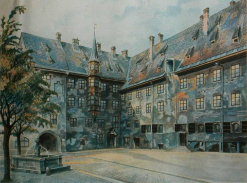 Картины, нарисованные Гитлером