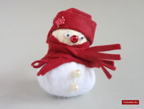 Снеговик изфетра