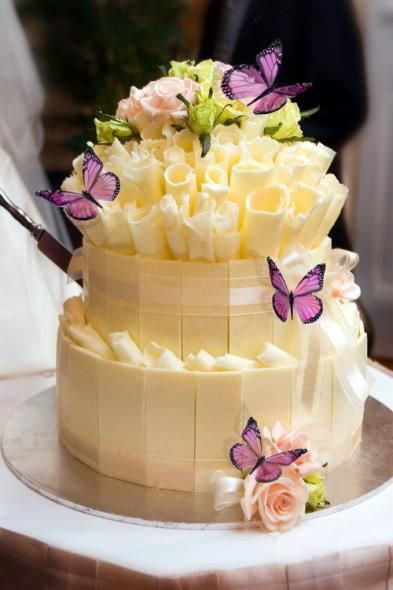 Роскошные цветочные торты. И…
