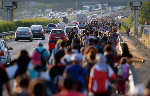 Африканские беженцы проложили новую тропу в Германию