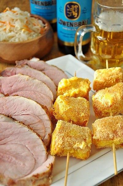 Жаркое из свиного филе в пив…