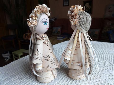Куклы из бересты