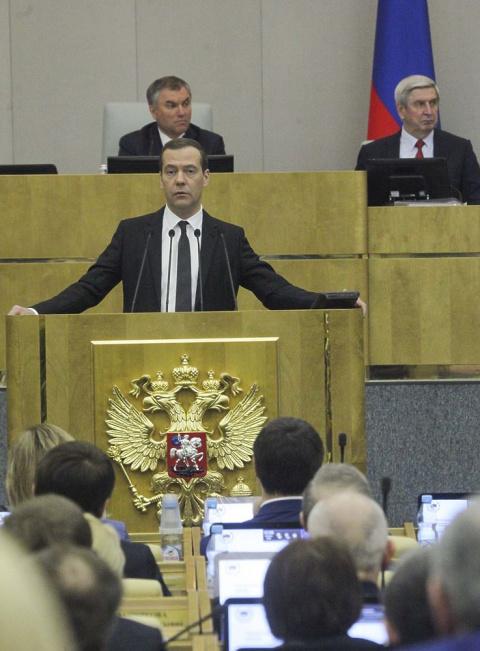 Порочный круг: у Медведева в…