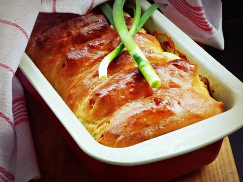 Хлеб с сыром к завтраку