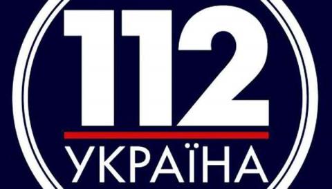 В логотипе телеканала «112» Киев   углядел  цвета флага России