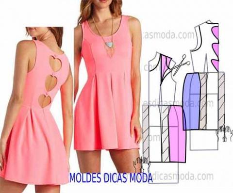 Три красивых платья - выкройки