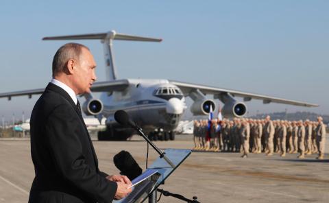 Путин удивил Запад срочным  выводом войск из Сирии