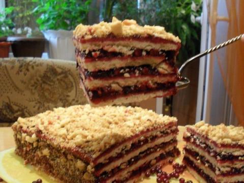Идеальный песочный торт