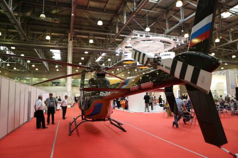 Выставка HeliRussia 2015 в Москве