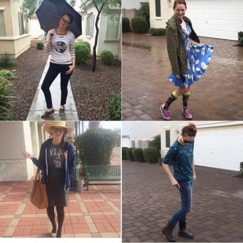 Трехлетний сын - лучший стилист: 5 модных нарядов для любимой мамы
