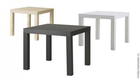 Новый облик столика из Икеи за 2 часа