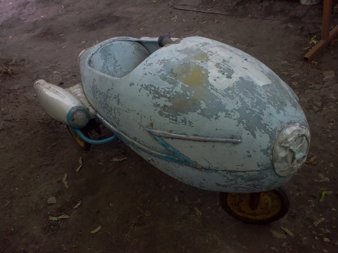 Восстановление детской машин…