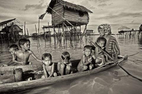 Народ банджо или морские цыгане