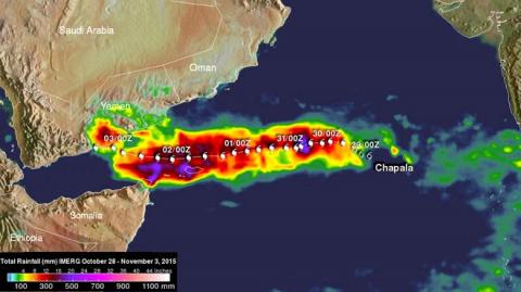 По Йемену ударил циклон рекордной силы: выпало несколько годовых норм осадков