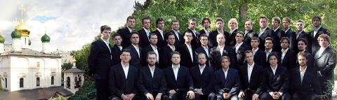 Поёт хор Сретенского монастыря