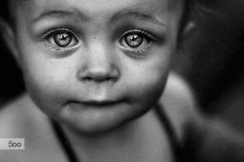 30 фантастических чёрно-белых портретов