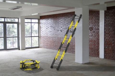 Лестница, которую можно свернуть в клубок