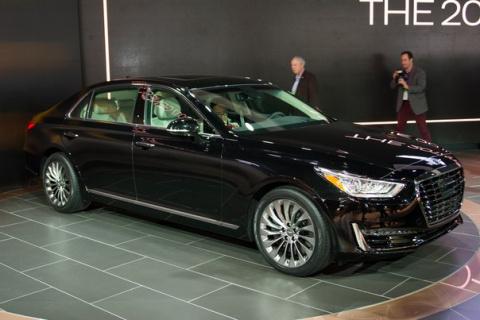 Hyundai привез в США конкурента Mercedes S-Class