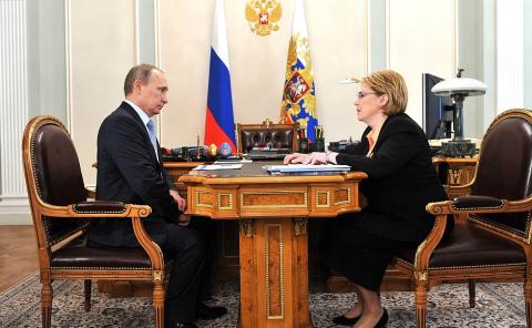 Рабочая встреча с Министром здравоохранения Вероникой Скворцовой