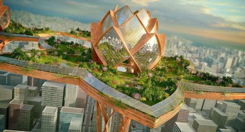 10 невероятных архитектурных проектов будущего, которые вас поразят