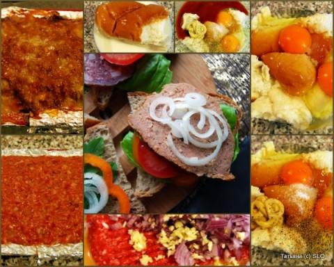 Куриный багет для бутербродов: