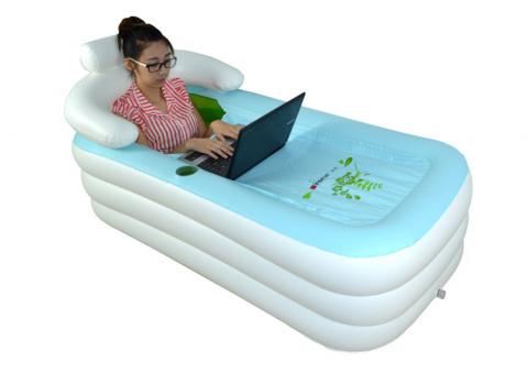 Надувная ванна в домашних и походных условиях